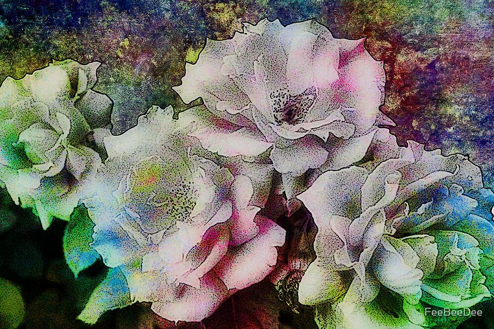 Wild and Wonderful Roses by FeeBeeDee