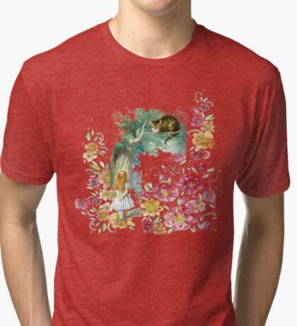 Alicia en el país de las maravillas Camiseta de tejido mixto