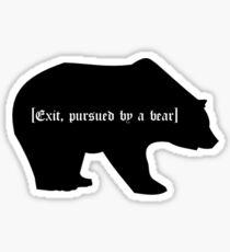 A Bear Sticker