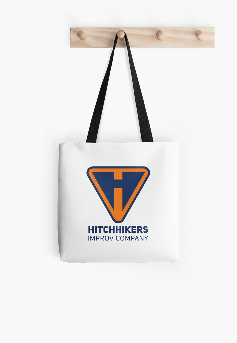 Hitchhikers Improv (Navy & Orange) by madeinsask