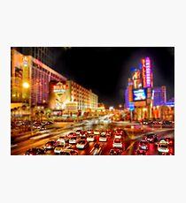 Vegas Nights Photographic Print