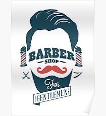 barber shop posters redbubble