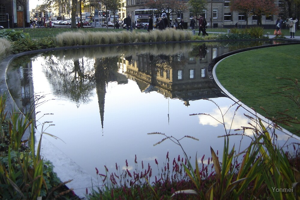 St Andrew's Square Reflected by Yonmei