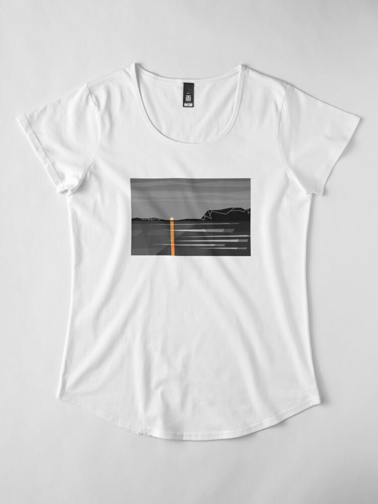 Alternate view of sunset 2 Premium Scoop T-Shirt