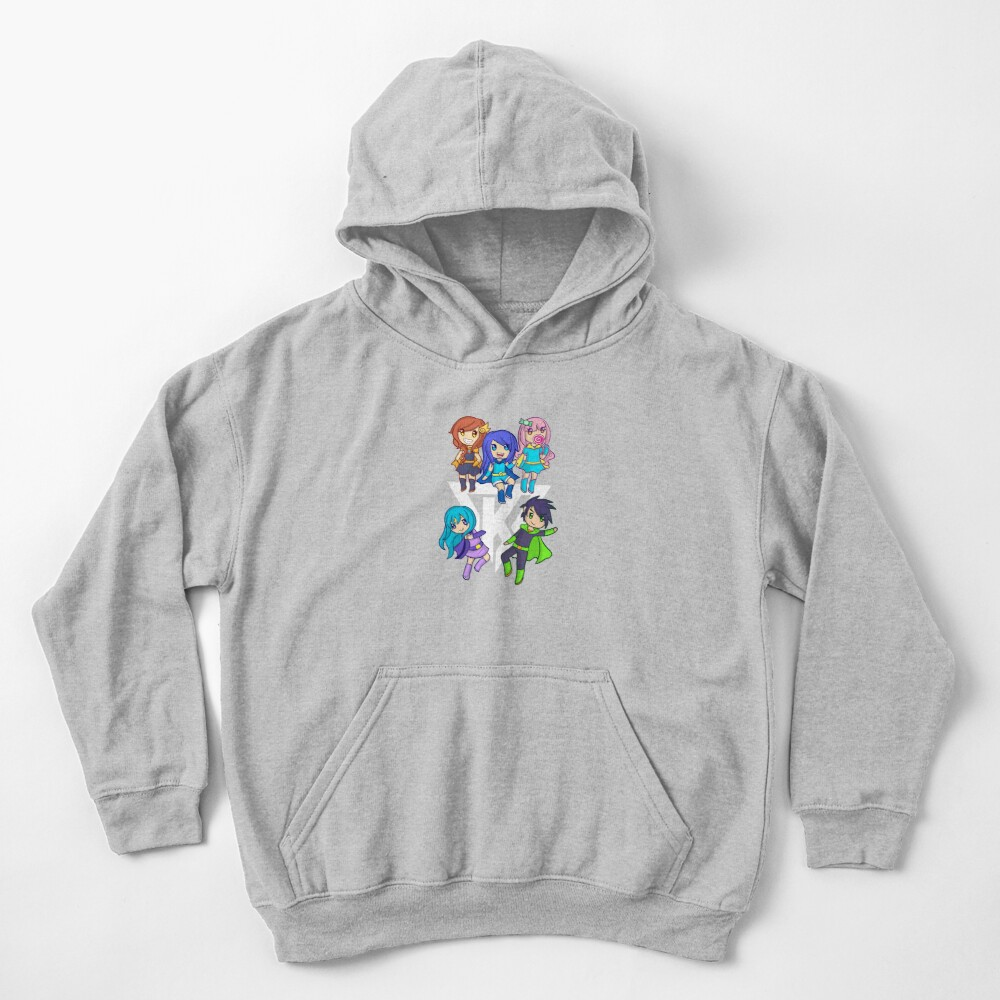 Funneh and the Krew White Kids Pullover Hoodie