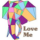 Love Me Elephant by dadawan