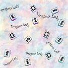 "Pastels ""Dragon Lady""- Mah Jongg by Susan Werby"