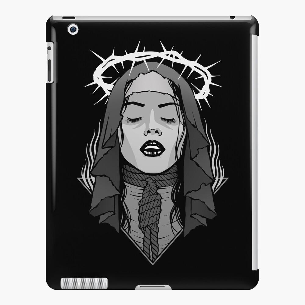 Dark Nun iPad Case & Skin