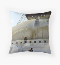 Stupa Throw Pillow