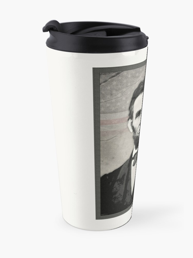 Alternate view of Abraham Lincoln Travel Mug