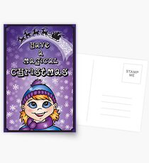 A Magical Christmas - Christmas Cards Postcards