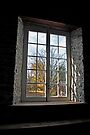 Old Mill Window - Manotick Ontario by Debbie Pinard
