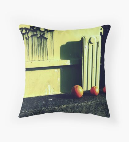 I Could Go Anywhere With You and I'd Probably Be Happy Throw Pillow