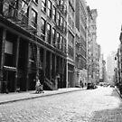 New York City Street - Soho by Vivienne Gucwa