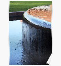 Fountain - Adelaide Botanic Gardens Poster