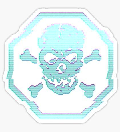 Jolly Roger Virus Sticker