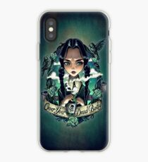 OVER YOUR DEAD BODY iPhone Case