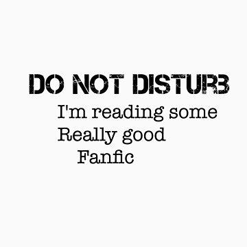 Do not disturb fandom case by thatfangirlgini