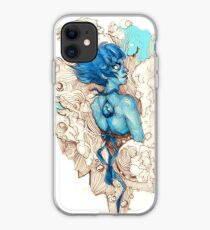 Abstract Lapis Lazuli iPhone Case