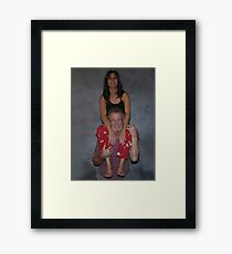 """"""" Weight Lifting """" Framed Print"""