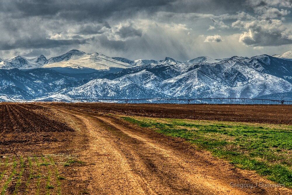From The Colorado Plains To Mt. Audubon and Indian Peaks by Gregory J Summers