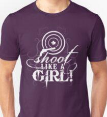 Shoot Like A Girl Unisex T-Shirt