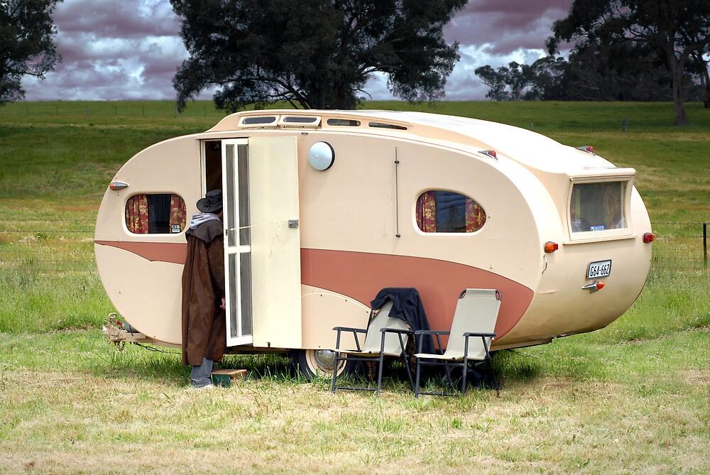 Quot Classic 1950s Bondwood Caravan Quot By Pyramidhill Redbubble