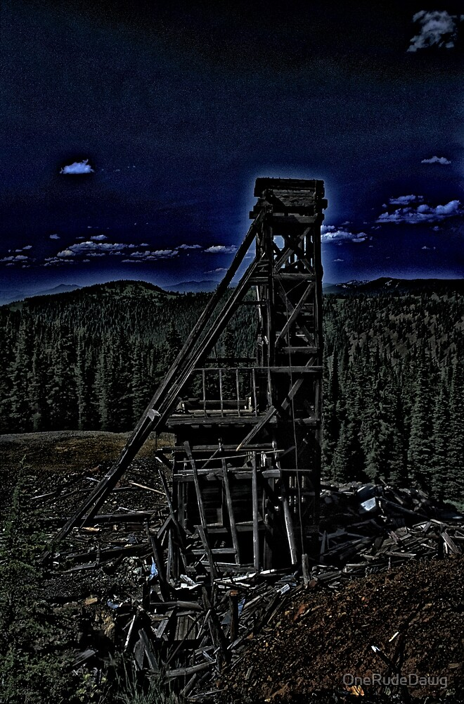 Old Mining Structure by OneRudeDawg