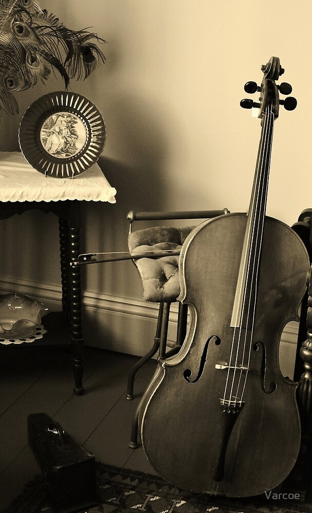 Cello by Jeanette Varcoe.
