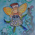 Todd & Turtle by Amanda  Hazlett