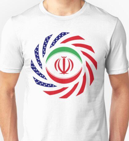 Iranian American Multinational Patriot Flag Series T-Shirt
