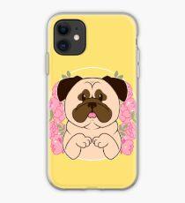 Cinnamon the Pug iPhone Case