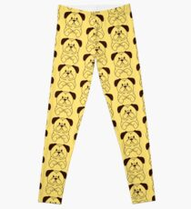 Cinnamon the Pug Leggings