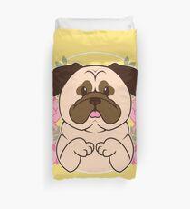 Cinnamon the Pug Duvet Cover