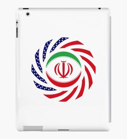 Iranian American Multinational Patriot Flag Series iPad Case/Skin