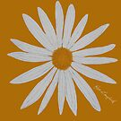 WHITE DAISY GOLD by RoseLangford
