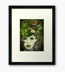 It's A Jungle In There! Framed Print