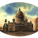 Petersburg. St.-Isaac's Cathedral by Sergei Kurbatov