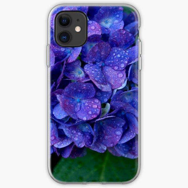 Ajisai Blues iPhone Soft Case