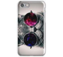 Cool Cat W/ Glasses iPhone Case/Skin