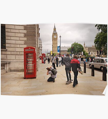 Westminster Photographer in Action Poster
