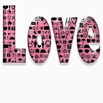 love, love, love by poupoune