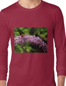 Clearwing Moth And The Bee Long Sleeve T-Shirt