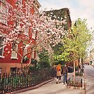 Springtime - West Village - New York City by Vivienne Gucwa