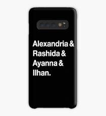 Alexandria & Ilhan & Ayanna & Rashida. (for darker shirts) Case/Skin for Samsung Galaxy