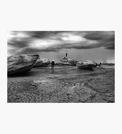 Rock Photographers Photographic Print