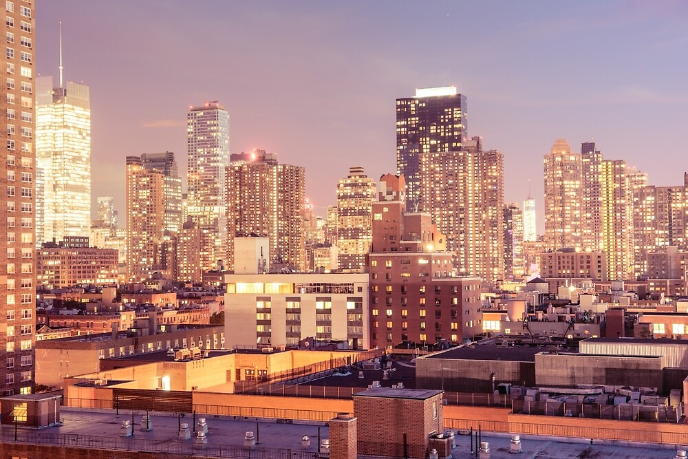 City Rooftops - New York City by Vivienne Gucwa