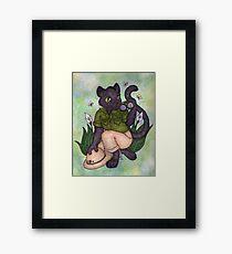 Panther On Safari Framed Print