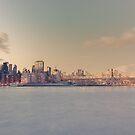 New York City - Queensboro Bridge - Dusk by Vivienne Gucwa