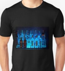 Blue Night Shadows Unisex T-Shirt